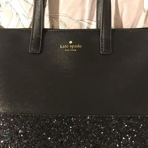 Kate Spade sparkly small tote purse